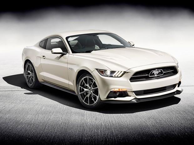 Edição especial de 50 anos do Ford Mustang (Foto: Divulgação)