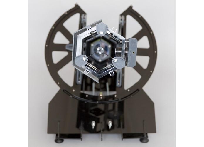 Mini telescópio se alinha sozinho com estação espacial (Foto: Divulgação)