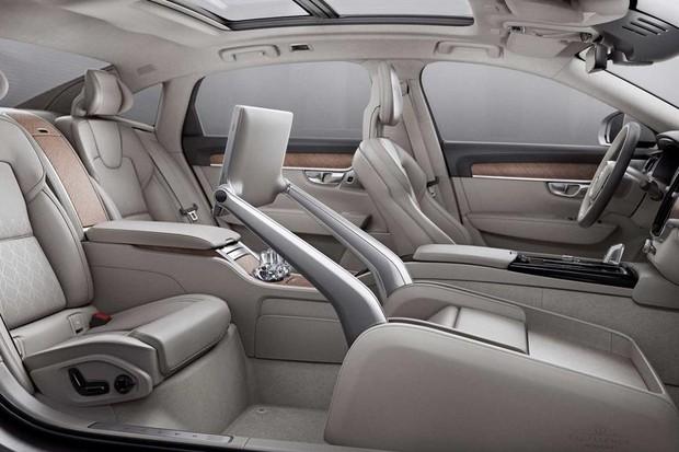 Conceito de interior Volvo (Foto: Divulgação)