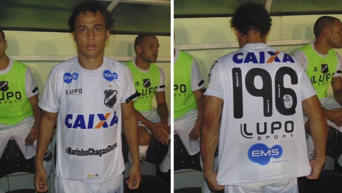 Camisa do ABC - ABC x Náutico - Homenagem a Marinho Chagas (Foto: Klênyo Galvão/GloboEsporte.com)