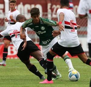 Afonso, do Palmeiras, definiu a vitória por 2 a 0 sobre o São Paulo (Foto:  Fabio Menotti/Palmeiras)