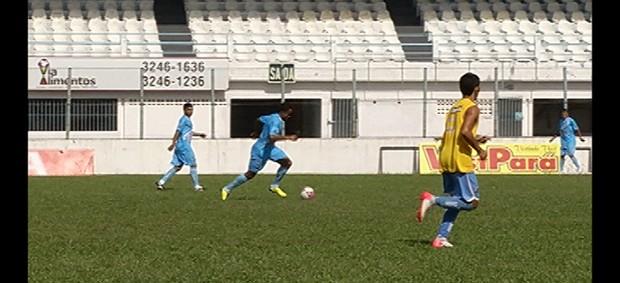 Paysandu voltou aos treinos neste domingo (Foto: Reprodução/ TV Liberal)