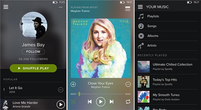 Spotify teve seu aplicativo para Windows Phone atualizado com funcionalidades e nova interface (Foto: Divulgação/Windows Phone Store)