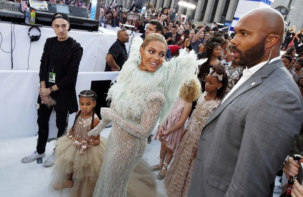 Beyoncé e Blue Ivy (Foto: Reuters)
