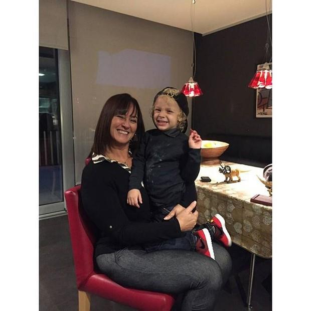 Nadine e Davi (Foto: Reprodução/Instagram)