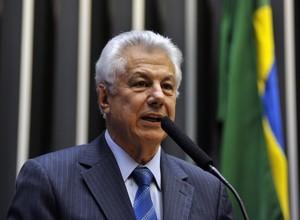 O deputado Arlindo Chinaglia (PT-SP) (Foto: Zeca Ribeiro / Câmara dos Deputados)