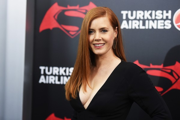 Amy Adams no lançamento de 'Batman vs Superman' (Foto: Getty Images)