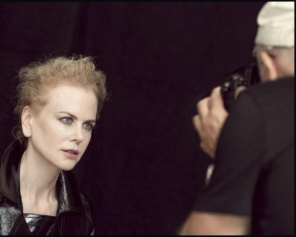 Nicole Kidman nos bastidores do Calendário Pirelli 2017 (Foto: Divulgação Calendário Pirelli)