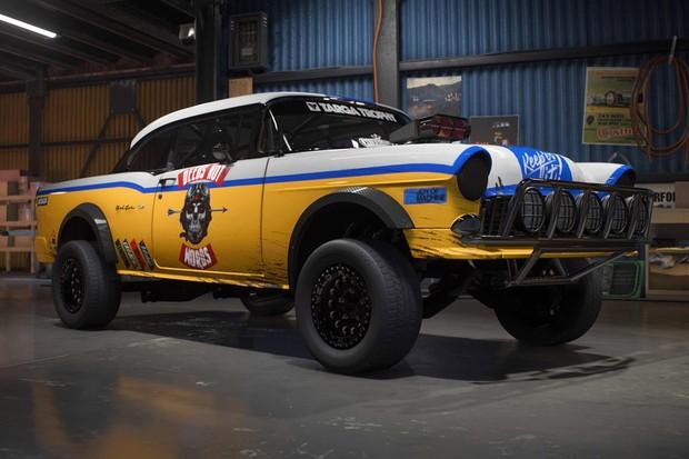 Belair pode virar um carro digno de competir na Baja  (Foto: Divulgação)