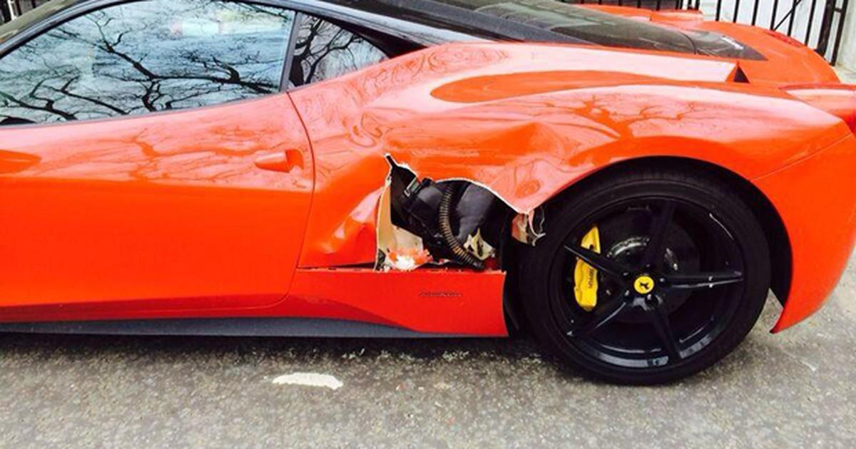 bcafd0e8d5a G1 - Veja carreta que  rasgou  Ferrari e outras trapalhadas com  carrões  -  notícias em Planeta Bizarro