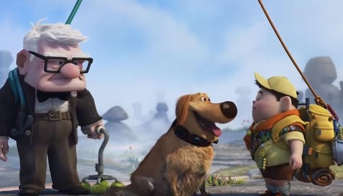 Dug, o cão falante de 'Up - Altas Aventuras' (Foto: Reprodução)