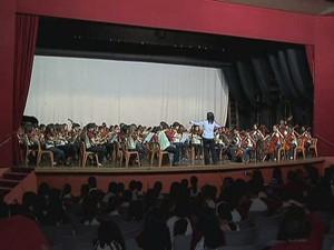 Festival de Música Colonial Brasileira e Música Antiga Juiz de Fora 2 (Foto: Reprodução/ TV Integração)