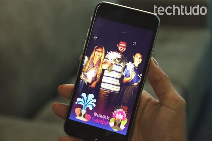 Snapchat (Foto: Gabrielle Lancellotti/TechTudo)