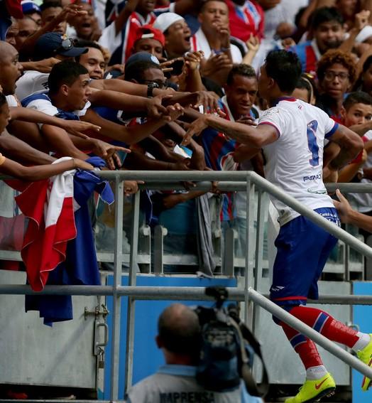Goleada da conquista (Felipe Oliveira/Agência Estado)