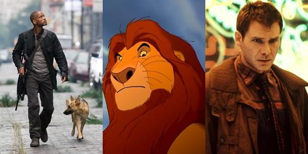 'Eu Sou a Lenda', 'O Rei Leão' e 'Blade Runner': exemplos de filmes com finais alternativos melhores que os originais (Foto: Divulgação)