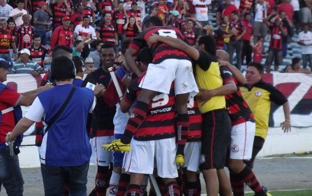 Campinense x CSA, pela Série D (Foto: Silas Batista / Globoesporte.com)