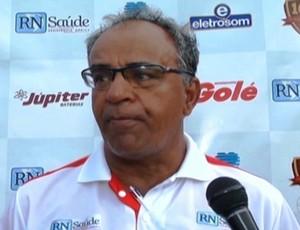 Wantuil Rodrigues, técnico, Uberaba Sport (Foto: Reprodução/TV Integração)