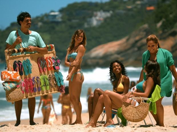 Atriz Susana Vieira estreia em campanha da Havaianas  (Foto: Divulgação)