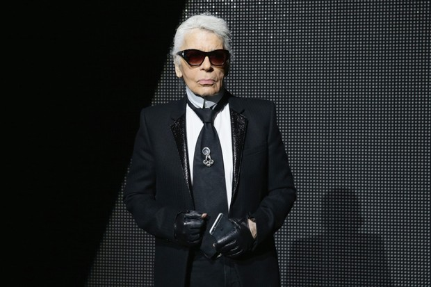 O estilista Karl Lagerfeld (Foto: Getty Images)