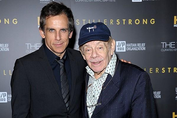 Ben Stiller e Jerry Stiller (Foto: Getty Images)