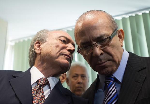 O presidente Michel Temer e o ministro Eliseu Padilha , da Casa Civil (Foto: Marcelo Camargo/Agência Brasil)