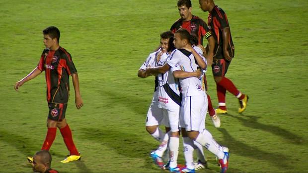 Ponte goleia Sapucaiense e avança na Copa do Brasil (Foto: Reprodução EPTV)