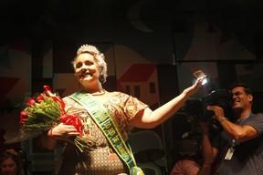Thaís Oliveira vence concurso de beleza no Rio (Foto: Anderson Barros/ EGO)