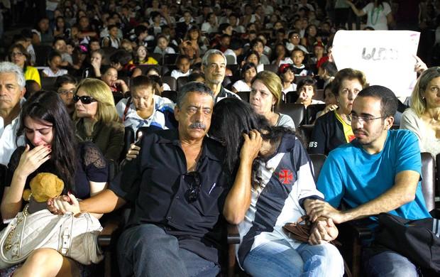 Homenagem torcedor do vasco Pablo (Foto: Pablo Jacob / Agência o Globo)