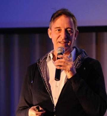 David R. Bell, professor da Wharton School, durante o evento de Nova York (Foto: Divulgação)