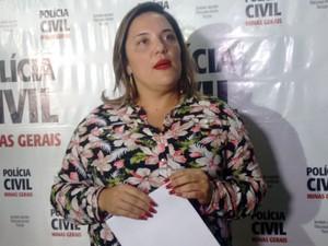 Delegada contou que suspeito de 24 anos alegou vingança como motivo do crime (Foto: Zana Ferreira/G1)