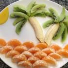 Prato de frutas  (Foto: Thais Kaniak / G1PR)
