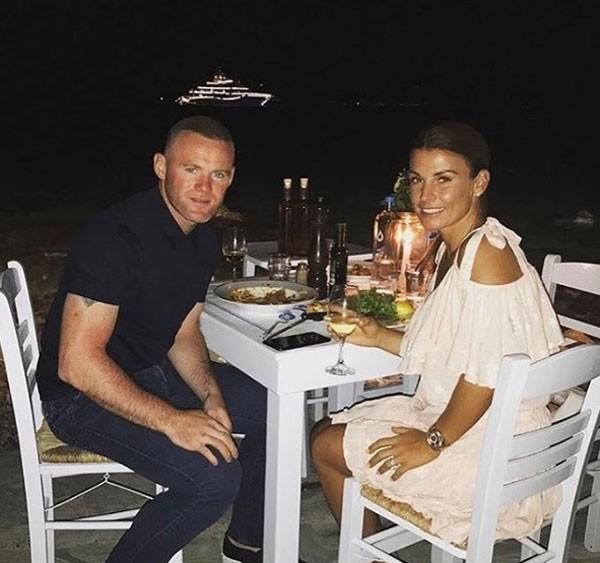 Wayne e Coleen Rooney (Foto: reprodução)