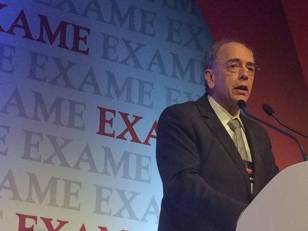Pedro Parente, presidente da Petrobras, no Exame Fórum, evento, organizado pelo Grupo Abril (Foto: Darlan Alvarenga/G1)