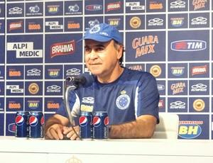 Marcelo Oliveira, técnico do Cruzeiro (Foto: Rafael Araújo / Globoesporte.com)