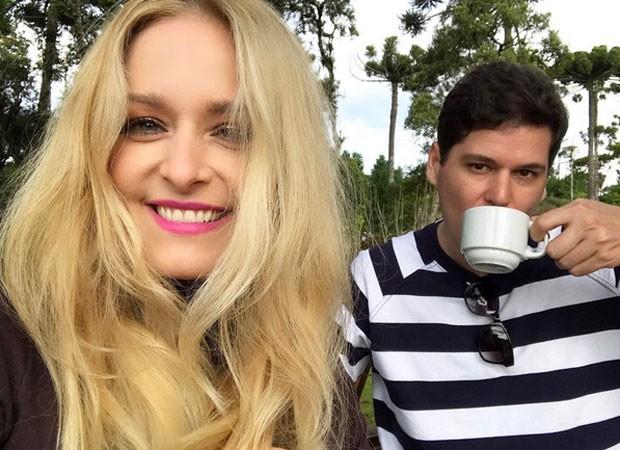Luciana Vendramini e o namorado, Francisco Borges (Foto: Reprodução/Instagram)