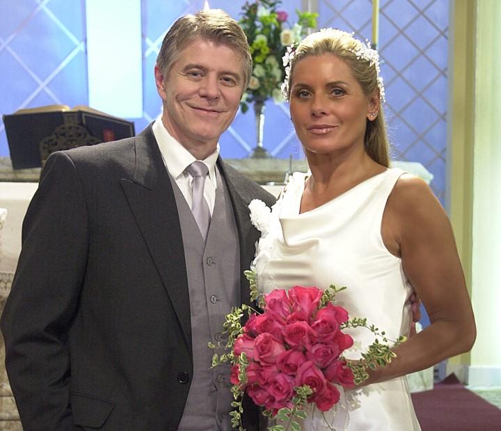 Juca (Miguel Falabella) e Antônia (Vera Fischer) em Agora é que São Elas (Foto: João Miguel Júnior / TV Globo)