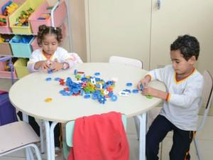 Capacidade é para 261 crianças divididas em 16 turmas (Foto: Emerson Ferraz)