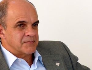 Eduardo Bandeira de Mello, candidato à presidência do Flamengo (Foto: Vicente Seda / Globoesporte.com)