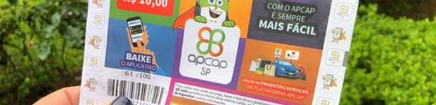 Com o cartão pré-pago Apcap SP você concorre a mais de R$ 50 mil em prêmios (editar título)