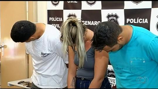 Trio usava prostituta para atrair e roubar caminhoneiros, diz polícia