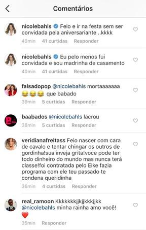 Nicole Bahls e Veridiana Freitas trocam farpas na web (Foto: Reprodução/Instagram)