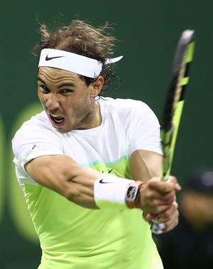 Rafael Nadal vence Illya Marchenko na semifinal do ATP de Doha (Foto: AFP)
