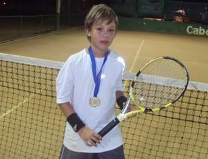 Eduardo Galdino, tenista paraibano (Foto: Divulgação)