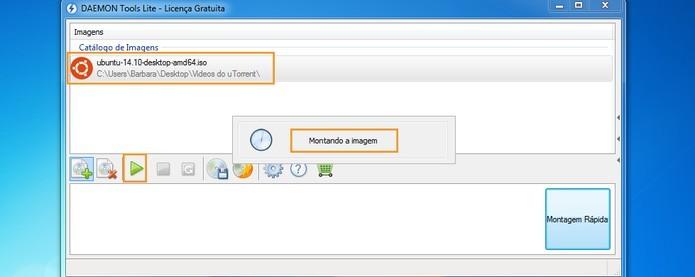 Programa Daemon Tools permite emular imagens em ISO no computador (Foto: Reprodução/Barbara Mannara)
