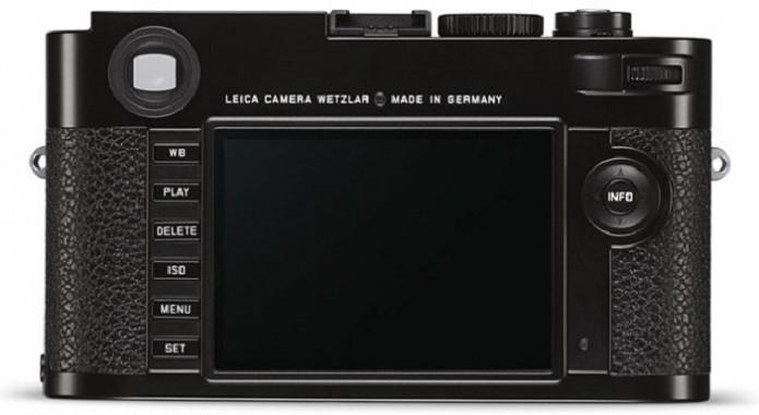Os controles manuais ficam ao lado da tela LCD de 3 polegadas (Foto: Divulgação/Leica)