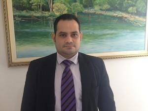 Raul Silva Júnior, procurador tributário do estado (Foto: John Pacheco/G1)