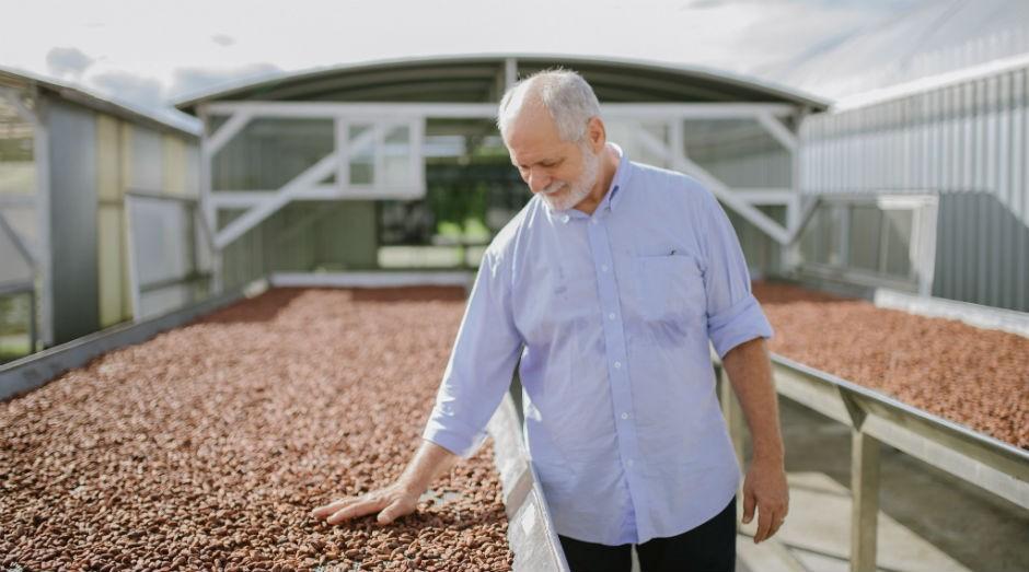 Raimundo Camelo Mororó, um dos maiores especialistas brasileiros em chocolate e sócio gerente da fábrica Mendoá (Foto: Divulgação/Ana Lee)