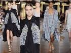 Com Cara Delevingne na passarela, Stella McCartney apresenta coleção na semana de moda de Paris