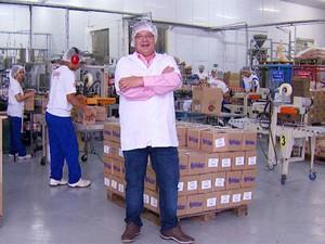 Leandro Tempeste, presidente de empresa familiar de Valinhos (SP) (Foto: Domingos Sávio / EPTV)