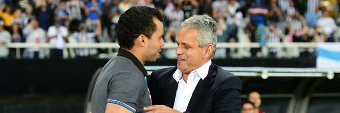 Jair Ventura e Reinaldo rueda (Foto: André Durão)